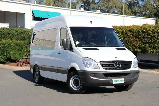 Used Mercedes-Benz Sprinter NCV3 MY11 316CDI High Roof LWB, 2011 Mercedes-Benz Sprinter NCV3 MY11 316CDI High Roof LWB Arctic 5 Speed Automatic Van