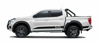 2018 Nissan Navara D23 S3 ST Black Edition Polar White 7 Speed Sports Automatic Utility