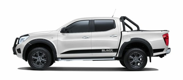 New Nissan Navara D23 S3 ST Black Edition, 2018 Nissan Navara D23 S3 ST Black Edition Polar White 7 Speed Sports Automatic Utility