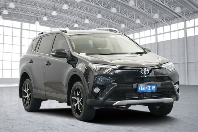 Used Toyota RAV4 ASA44R GXL AWD, 2016 Toyota RAV4 ASA44R GXL AWD Black 6 Speed Sports Automatic Wagon