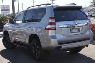 2015 Toyota Landcruiser Prado KDJ150R MY14 Altitude Silver Pearl 5 Speed Sports Automatic Wagon.