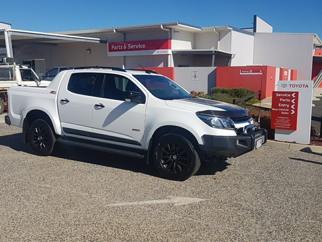 Used Holden Colorado RG MY17 Z71 (4x4), 2017 Holden Colorado RG MY17 Z71 (4x4) White 6 Speed Automatic Crew Cab Pickup