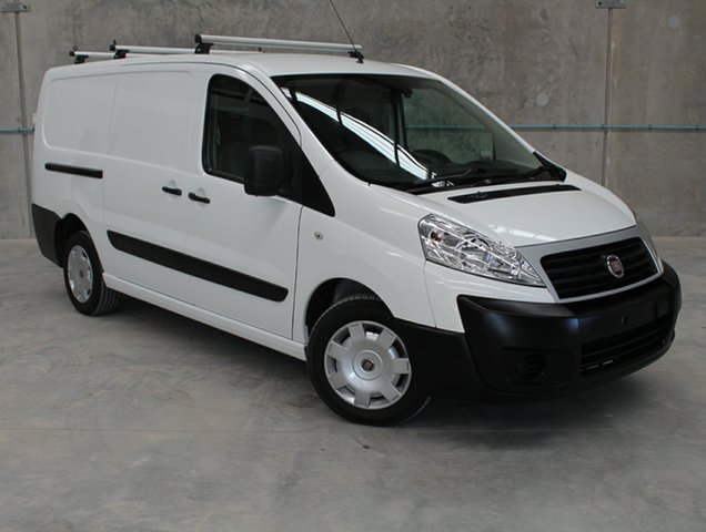 Used Fiat Scudo  Low Roof LWB, 2014 Fiat Scudo Low Roof LWB White 6 Speed Manual Van
