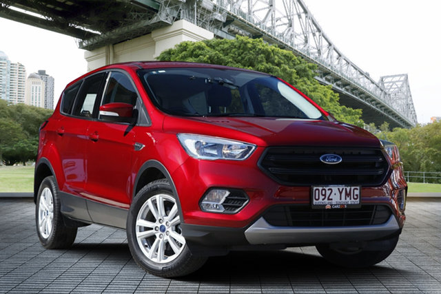 Used Ford Escape ZG 2018.75MY Ambiente 2WD, 2018 Ford Escape ZG 2018.75MY Ambiente 2WD Red 6 Speed Sports Automatic Wagon