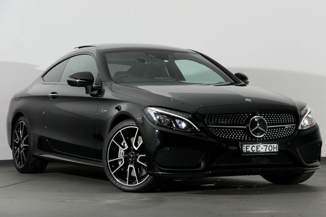 Used Mercedes-Benz C43 C205 AMG 9G-Tronic 4MATIC, 2016 Mercedes-Benz C43 C205 AMG 9G-Tronic 4MATIC Black 9 Speed Sports Automatic Coupe
