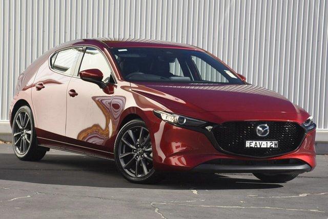 Demo Mazda 3 BN5478 Touring SKYACTIV-Drive, 2019 Mazda 3 BN5478 Touring SKYACTIV-Drive Red 6 Speed Sports Automatic Hatchback