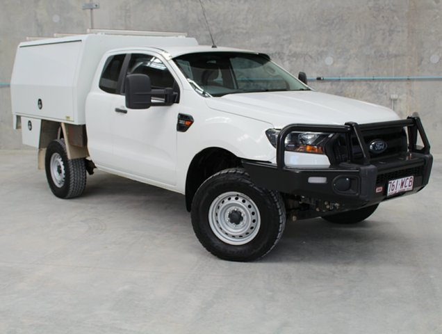 Used Ford Ranger PX MkII XL Super Cab, 2015 Ford Ranger PX MkII XL Super Cab White 6 Speed Manual Cab Chassis