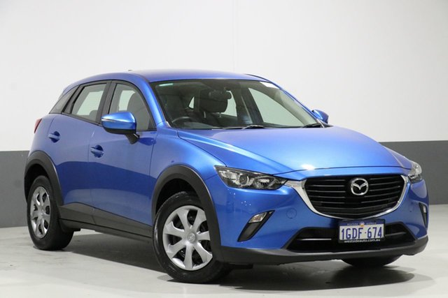 Used Mazda CX-3 DK Neo (FWD), 2016 Mazda CX-3 DK Neo (FWD) Blue 6 Speed Automatic Wagon