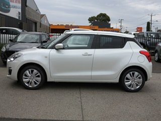 2019 Suzuki Swift AL GL Navigator Pure White Continuous Variable Hatchback