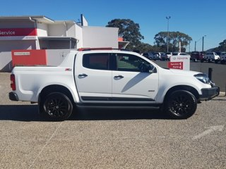 2017 Holden Colorado RG MY17 Z71 (4x4) White 6 Speed Automatic Crew Cab Pickup.