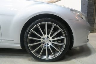2008 Mercedes-Benz CL500 C216 MY08 Silver 7 Speed Sports Automatic Coupe.