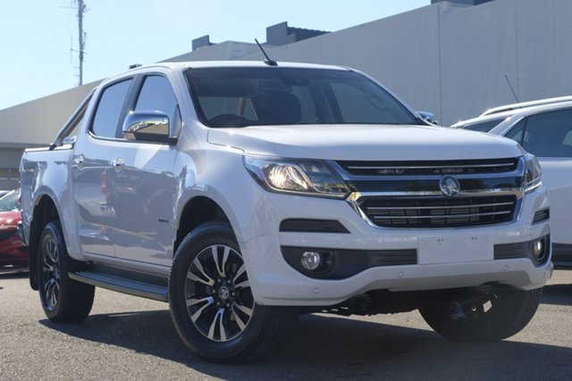Used Holden Colorado RG MY19 LTZ Pickup Crew Cab, 2018 Holden Colorado RG MY19 LTZ Pickup Crew Cab White 6 Speed Sports Automatic Utility