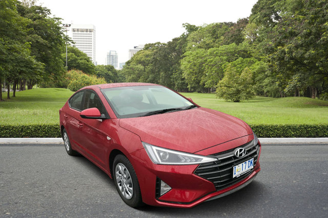 Demo Hyundai Elantra AD.2 MY19 Go, 2018 Hyundai Elantra AD.2 MY19 Go Fiery Red 6 Speed Sports Automatic Sedan