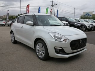 2019 Suzuki Swift AL GL Navigator Pure White Continuous Variable Hatchback.