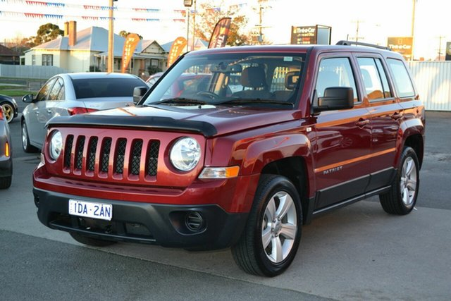 Used Jeep Patriot MK MY15 Sport (4x2), 2014 Jeep Patriot MK MY15 Sport (4x2) Maroon 5 Speed Manual Wagon
