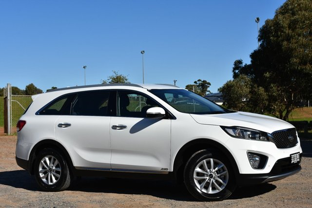 Used Kia Sorento UM MY15 Si AWD, 2015 Kia Sorento UM MY15 Si AWD White 6 Speed Sports Automatic Wagon