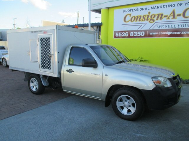 Used Mazda BT-50 UNY0W3 DX 4x2, 2007 Mazda BT-50 UNY0W3 DX 4x2 Gold 5 Speed Manual Cab Chassis