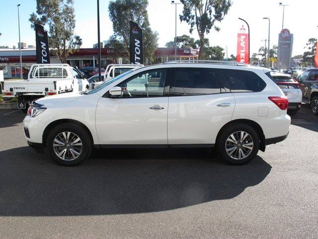 New Nissan Pathfinder MY19 ST-L (2WD), 2019 Nissan Pathfinder MY19 ST-L (2WD) Ivory Pearl Continuous Variable Wagon