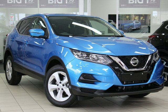 New Nissan Qashqai J11 Series 2 ST+ X-tronic, 2019 Nissan Qashqai J11 Series 2 ST+ X-tronic Vivid Blue 1 Speed Constant Variable Wagon