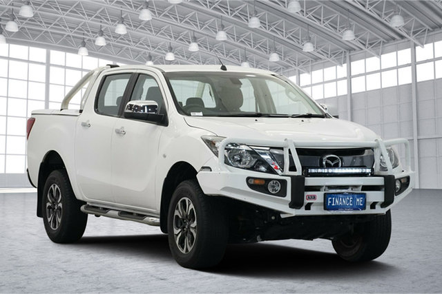 Used Mazda BT-50 UR0YF1 XTR, 2015 Mazda BT-50 UR0YF1 XTR White 6 Speed Sports Automatic Utility