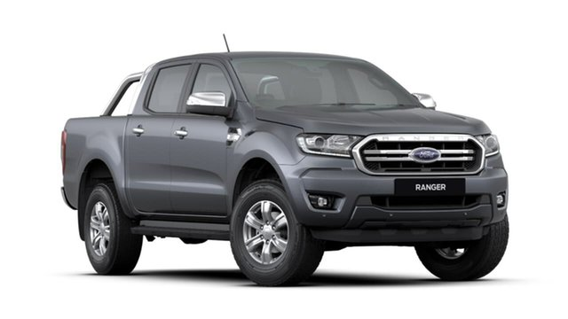 Used Ford Ranger PX MkIII 2019.00MY XLT Pick-up Double Cab, 2018 Ford Ranger PX MkIII 2019.00MY XLT Pick-up Double Cab Grey 6 Speed Sports Automatic Utility