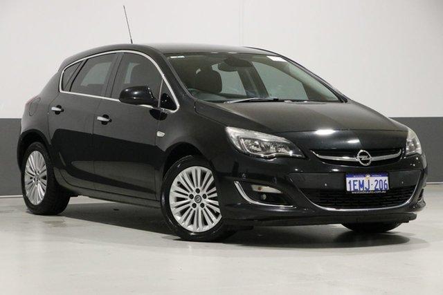 Used Opel Astra PJ CDTI Select, 2013 Opel Astra PJ CDTI Select Black 6 Speed Automatic Hatchback