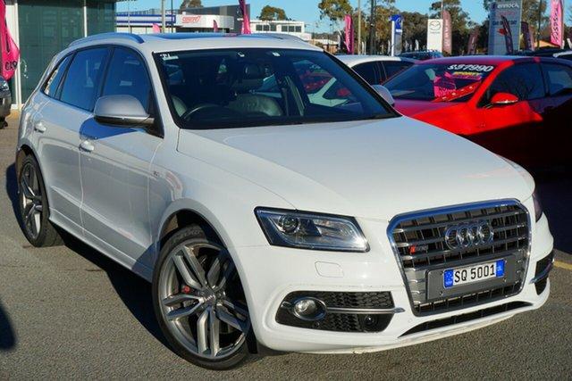 Used Audi SQ5 8R MY13 TDI Tiptronic Quattro, 2013 Audi SQ5 8R MY13 TDI Tiptronic Quattro White 8 Speed Sports Automatic Wagon