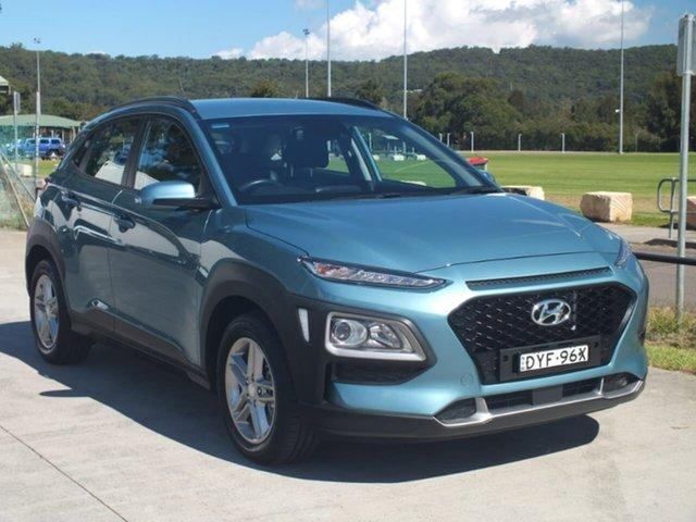 Used Hyundai Kona OS MY18 Active D-CT AWD, 2017 Hyundai Kona OS MY18 Active D-CT AWD Blue 7 Speed Sports Automatic Dual Clutch Wagon
