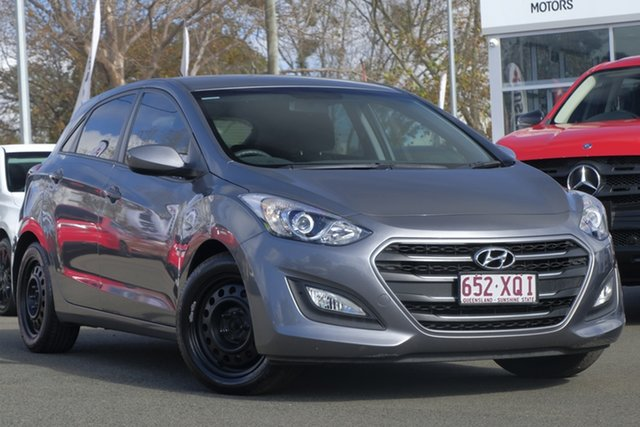 Used Hyundai i30 GD4 Series II MY17 Active, 2016 Hyundai i30 GD4 Series II MY17 Active Sparkling Metal 6 Speed Sports Automatic Hatchback