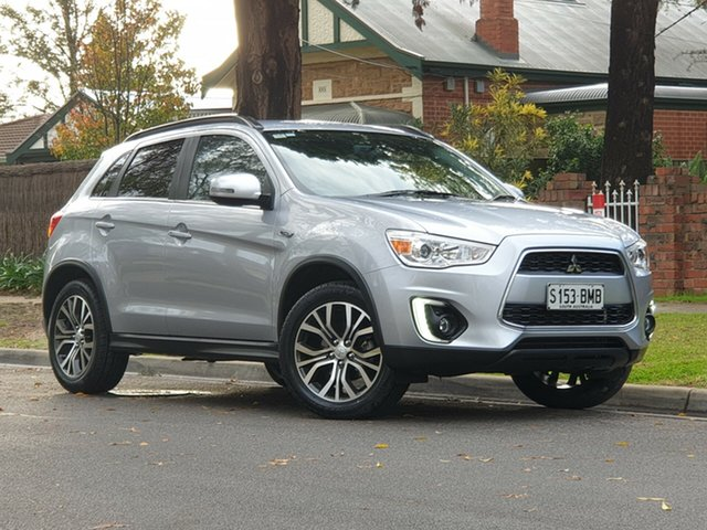 Used Mitsubishi ASX XB MY15.5 LS 2WD, 2016 Mitsubishi ASX XB MY15.5 LS 2WD Silver 6 Speed Constant Variable Wagon