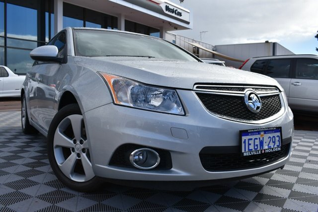 Used Holden Cruze JH Series II MY13 CD, 2013 Holden Cruze JH Series II MY13 CD Silver 6 Speed Sports Automatic Sedan