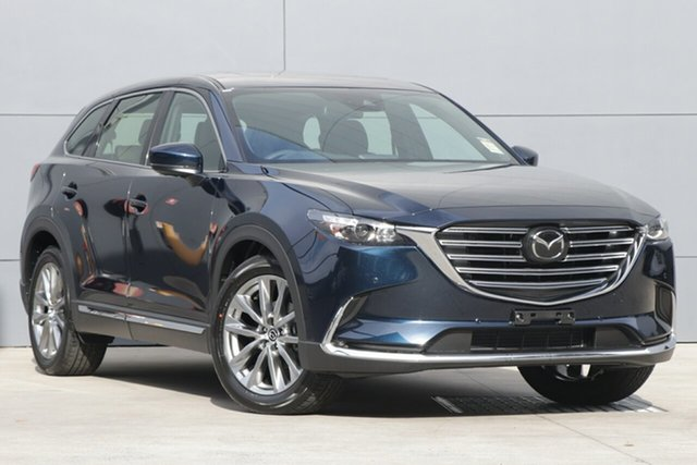 Demo Mazda CX-9 TC GT SKYACTIV-Drive i-ACTIV AWD, 2019 Mazda CX-9 TC GT SKYACTIV-Drive i-ACTIV AWD Deep Crystal Blue 6 Speed Sports Automatic Wagon