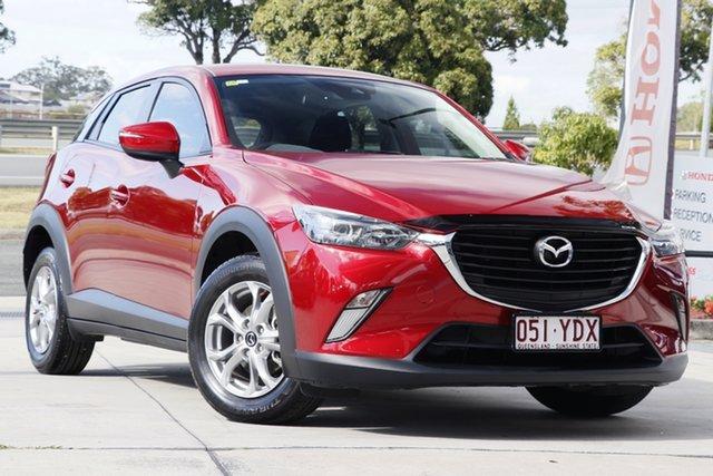 Used Mazda CX-3 DK2W7A Maxx SKYACTIV-Drive, 2018 Mazda CX-3 DK2W7A Maxx SKYACTIV-Drive Red 6 Speed Sports Automatic Wagon