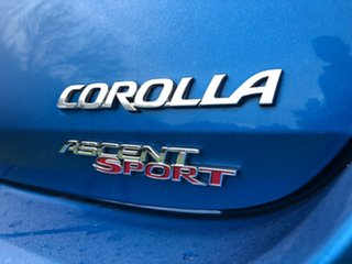 2013 Toyota Corolla ZRE182R Ascent Sport Blue 6 Speed Manual Hatchback
