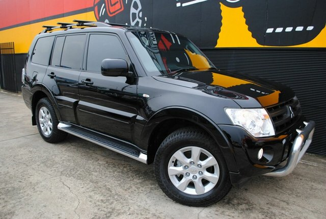 Used Mitsubishi Pajero NW MY12 Activ, 2012 Mitsubishi Pajero NW MY12 Activ Ink 5 Speed Sports Automatic Wagon