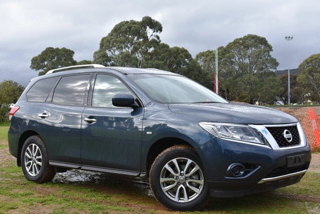 Used Nissan Pathfinder R52 MY15 ST X-tronic 2WD, 2015 Nissan Pathfinder R52 MY15 ST X-tronic 2WD Blue 1 Speed Constant Variable Wagon