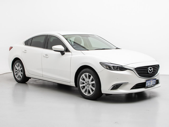 Used Mazda 6 6C MY14 Upgrade Touring, 2015 Mazda 6 6C MY14 Upgrade Touring White 6 Speed Automatic Sedan