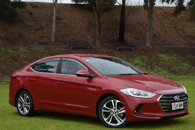 Used Hyundai Elantra AD MY17 Elite, 2015 Hyundai Elantra AD MY17 Elite Red 6 Speed Sports Automatic Sedan