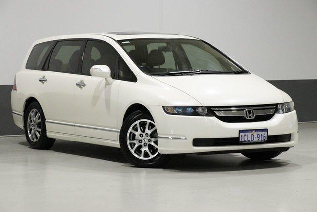 Used Honda Odyssey 20 MY06 Upgrade Luxury, 2007 Honda Odyssey 20 MY06 Upgrade Luxury White 5 Speed Sequential Auto Wagon