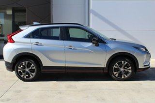 2018 Mitsubishi Eclipse Cross YA MY18 ES Sterling Silver 8 Speed Continuous Variable.