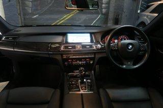2014 BMW 7 Series F01 LCI 740i Steptronic Black 8 Speed Sports Automatic Sedan.