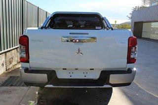 2018 Mitsubishi Triton MR MY19 GLS PREMIUM White 6 Speed Automatic