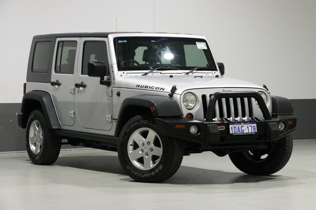 Used Jeep Wrangler Unlimited JK MY09 Rubicon (4x4), 2009 Jeep Wrangler Unlimited JK MY09 Rubicon (4x4) Silver 4 Speed Automatic Softtop