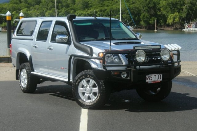 Used Holden Colorado RC MY11 LT-R Crew Cab, 2011 Holden Colorado RC MY11 LT-R Crew Cab Silver 5 Speed Manual Utility
