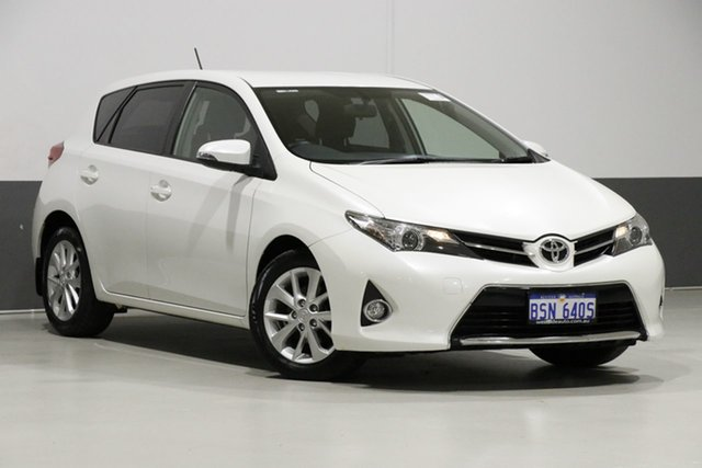Used Toyota Corolla ZRE182R MY15 Ascent Sport, 2015 Toyota Corolla ZRE182R MY15 Ascent Sport White 7 Speed CVT Auto Sequential Hatchback