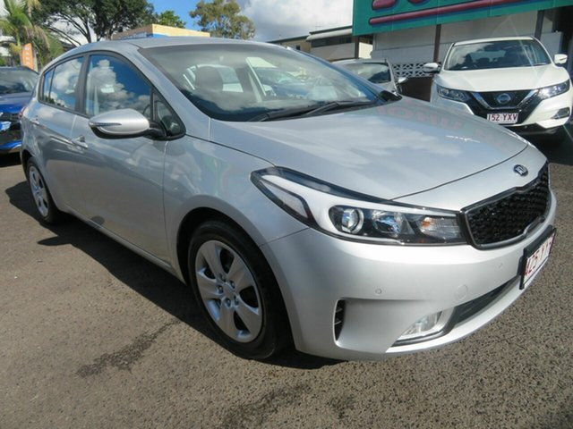 Used Kia Cerato YD MY18 S, 2017 Kia Cerato YD MY18 S Silver 6 Speed Sports Automatic Hatchback