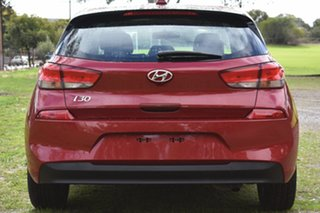 2017 Hyundai i30 PD MY18 Active Fiery Red 6 Speed Sports Automatic Hatchback