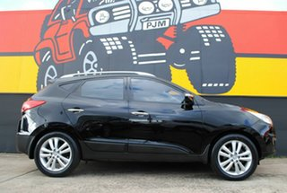 2010 Hyundai ix35 LM Highlander AWD Black 6 Speed Sports Automatic Wagon.