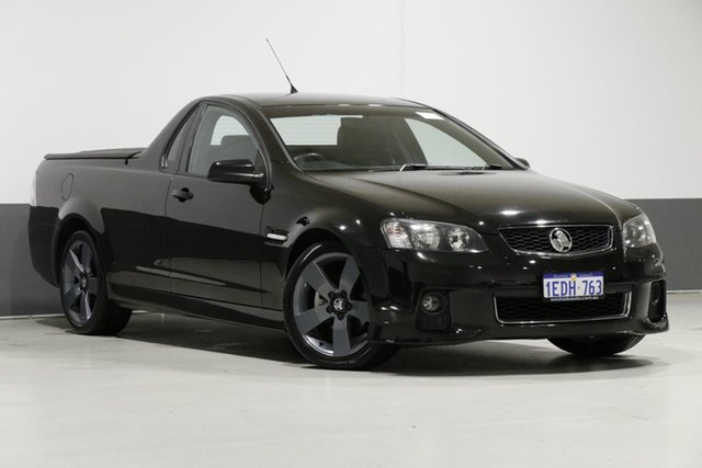 Used Holden Commodore VE II MY12 SV6, 2012 Holden Commodore VE II MY12 SV6 Black 6 Speed Manual Utility