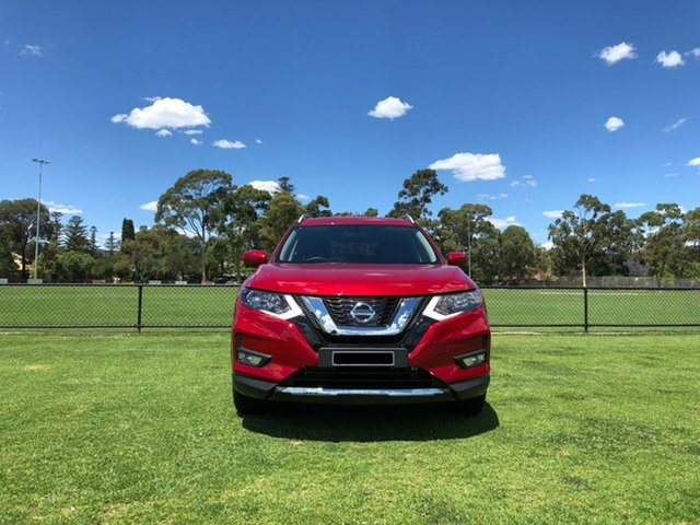 Demo Nissan X-Trail T32 Series II ST-L X-tronic 4WD, 2018 Nissan X-Trail T32 Series II ST-L X-tronic 4WD Red 7 Speed Constant Variable Wagon
